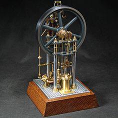 """Model Column Steam Engine """"Donatus"""" Premilled Material KIT   eBay"""