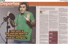 FOX Sports: Entrevista a Víctor Hugo Aristizábal en el diario El Espectador de Colombia (20/09/15)