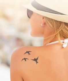Prettiest Bird Tattoos on Shoulder for Women