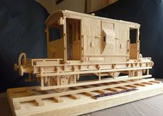 BR 20 Ton Brake Van - Matchstick Models - Galleries - RMweb