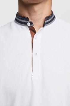 Polo Shirt Style, Polo Rugby Shirt, Polo T Shirts, Boys Shirts, Mens Kurta Designs, Camisa Floral, Polo Outfit, Zara, Smart Men