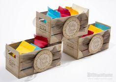 Holzkiste von Stampin Up mit leckerem Inhalt