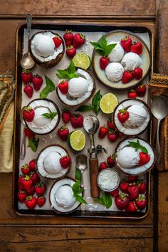 We are just nuts for coconut. Vegan Coconut Maple Lime Ice Cream that is! 😉 Have you thought about going vegan? Cheesecake Cupcakes, Red Velvet, Lime Ice Cream, Mousse, Coconut Bowl, Coconut Cream, Coconut Milk, Healthy Food Blogs, Pure Maple Syrup
