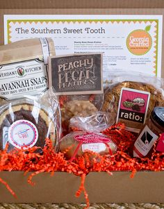 Southern Sweet Tooth Gift Box from Georgia Crafted