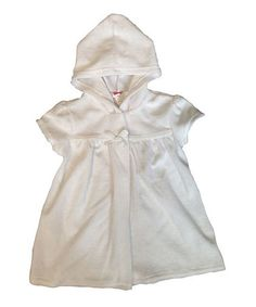 Look at this #zulilyfind! White Swing Cover-Up - Infant & Toddler by Sol Swim #zulilyfinds