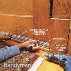 How to fix your insulation around your doors. Save money on your energy bills!