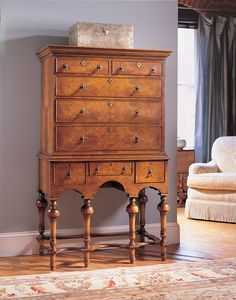 william and mary chest design - Google Search