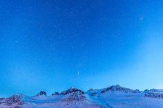 Starry Sky over Iceland. Photo by Hinrich Carstensen https://instagram.com/hinrich.carstensen/