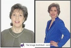 What a difference a day makes! Makeovers that change lives - by Sandy Dumont. #imagearchitect #makeovers