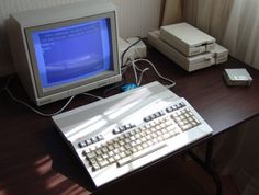 The Commodore 128 (C128, CBM 128, C=128) home/personal computer was the last 8-bit machine commercially released by Commodore Business Machines (CBM). Introduced in January 1985 at the CES in Las Vegas, it appeared three years after its predecessor, the bestselling Commodore 64.