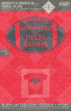 cute huh? University of Arkansas- Delta Gamma #BUonYOU #greek #greektshirts #greekshirts #sorority #DeltaGamma #DG #functions #mixers #gameday