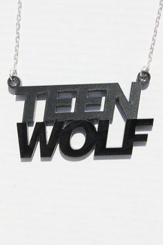 Teen Wolf necklace by TheGeekStudio on Etsy, $12.50