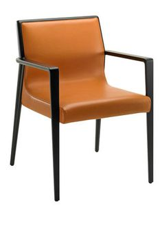 Home Collection: Fendi Nairobi chair in wood and leather, Fendi Casa Contemporary.