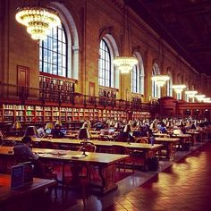 The New York Public Library | 19 Places To Go In NYC To Get Away From That Nasty Summer Smell