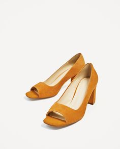 OPEN LEATHER HIGH HEEL SHOES-View all-SHOES-WOMAN | ZARA United States