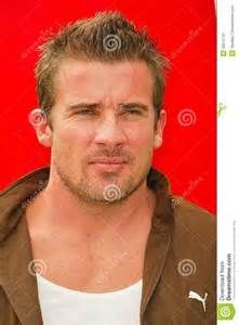 Dominic Purcell: What a difference hair makes on this man