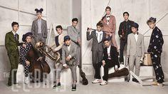 EXO - The Celebrity Magazine October Issue '13
