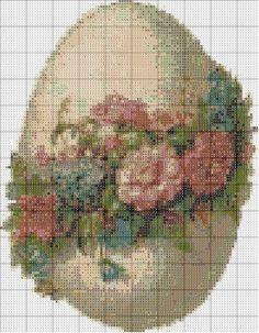Пасхальные схемы для вышивки 7