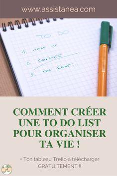 Je vous propose dans cet article d'organiser votre To Do List et enfin permettre à votre cerveau d'y voir plus clair, en classant, et catégorisant !