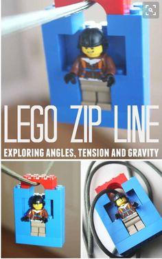Lego zip line how to Legos toys