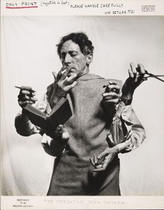 Philippe Halsman, The Versatile Jean Cocteau (1949)