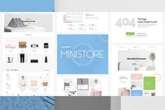 Ministore Multiple Shopify Theme  @creativework247