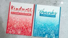 UPDATED: Easy Ombre Backgrounds - Lots of Cards! + GIVEAWAY - Jennifer McGuire Ink