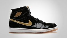 e9998d192e3 Air Jordan 1 Black Metallic Gold