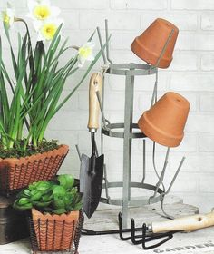 French Farmhouse bottle drying rack has so many uses.