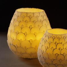 Candle Holder - Dragon Egg Design
