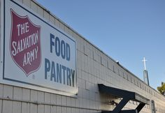 You can help The Salvation Army battle Food Insecurity