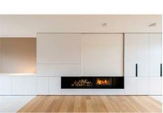Reid | Senepart | architecten. Interieur / Interior / Haard / Maatmeubilair / Woonkamer