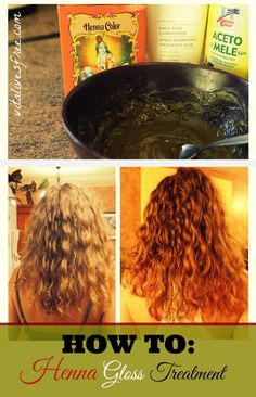 Henna Gloss Treatment Fo Soft And Shiny Hair #henna #hennagloss    vitalivesfree.com