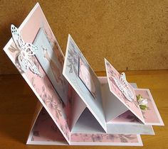 Triple Stacked Easel Card