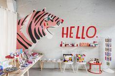 Decor Shop Interior Inspiration Ideas For 2019 Decoration Inspiration, Interior Inspiration, Mural Art, Wall Murals, Kids Room Murals, Room Kids, Kids Interior, Interior Minimalista, Wall Decor