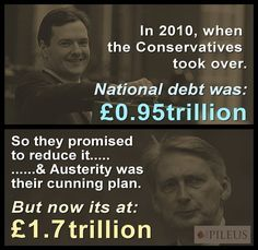 If anyone tells you Tories can be trusted with the economy, show them this