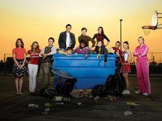 Glee Cast Photo Mug Hot Cocoa Gift Basket