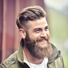 Dose of Beard Styles by Daily Dose of beard style and men's grooming tips. Beards Bart Barbe Barba Men Bearded Mustache Moustache Hair Style skæg Barba Sakal لحية Parta skäggThe Beards The Beards may refer to: Mens Medium Length Hairstyles, Mens Hairstyles With Beard, Haircuts For Men, Mens Undercut Hairstyle, Undercut Men, Facial Hair Growth, Beard Growth Oil, Great Beards, Awesome Beards