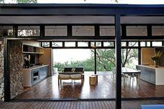 Aménager sa cuisine ouverte sur l'extérieur