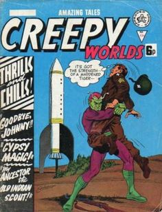 Cover for Creepy Worlds (Alan Class, 1962 series) #134