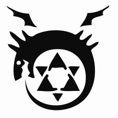 Homunculus Symbol. I'd probably get this as a tattoo. So obsessed with FMA Brotherhood