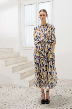beatpie:  Christophe Lemaire // printed dress