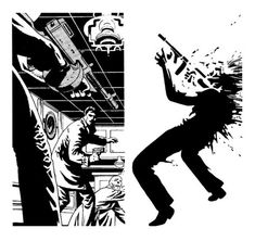 """brianmichaelbendis: These are a selection of panels and plates from Jim Steranko's Chandler story, """"Red Tide"""". (via fumettierotici) Comic Book Artists, Comic Artist, Comic Books Art, Game Design, Graphic Design Illustration, Illustration Art, Jim Steranko, Black And White Comics, Up Book"""