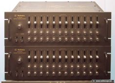 Technics Equalizers SH-9090