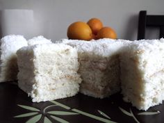 Prajitura Alba ca Zapada cu crema de cocos