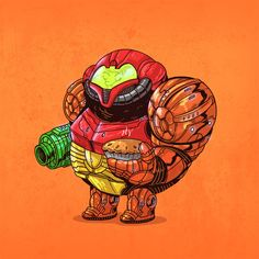 Super Chunky Metroid Famous Chunkies - Alex Solis