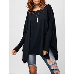 SHARE & Get it FREE | Drop Shoulder Side Slit Smock TeeFor Fashion Lovers only:80,000+ Items·FREE SHIPPING Join Dresslily: Get YOUR $50 NOW!
