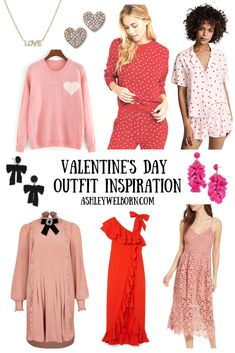 Are you planning on going out this Valentine's Day or are you staying in for snuggles on the couch?! Either way I have you covered with amazing Valentine's Day outfit details from pajamas, sweaters, lingerie, jewelry and cute dresses!