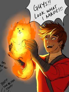 Really Kai..? Poor animal...