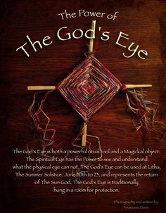 The God's Eye, or The Spiritual Eye.